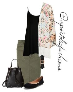 """""""Apostolic Fashions #1622"""" by apostolicfashions ❤ liked on Polyvore featuring J Brand, WearAll, Mat, Kate Spade, Furla, modestlykay and modestlywhit"""