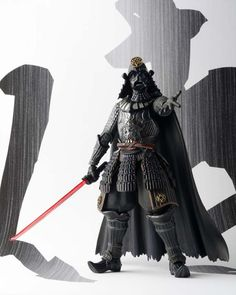 Has an added Japanese style that makes for a completely unique design (his sharp lightsaber-katana, to the meticulously sculpted Samurai-esque armor)