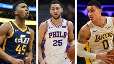 The #nba  this year hasn't been exactly very competitive on a team level. The Warriors are pummeling each team and look to be the runaway champions already. While the league hasn't been very competitive, the battle for individual awards has been heating up. Harden's injury has given other MVP contenders a chance, but it's the Rookie Of The Year race which is seeing multiple upstarts.