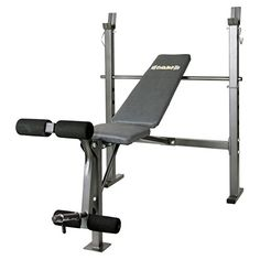 Body Champ MidWidth Weight Bench with Leg Developer Dark GrayBlack -- Learn more by visiting the image link. Best Home Workout Equipment, Training Equipment, Olympic Weights, Weight Benches, Weight Set, Bench Press, Physical Fitness, Workout Gear, Champs