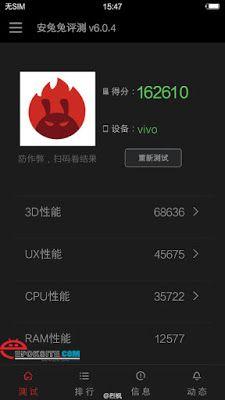 Vivo XPlay 5 Cetak Skor AnTuTu Menakjubkan Dengan Ram 6GB | Epoksite