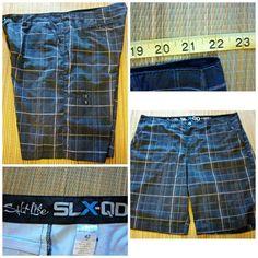 6d2f2b2da9 SALT LIFE SLX-QD Vapor Stretch Men's Size 42/44 BOARD SHORTS HYBRID TRUNKS