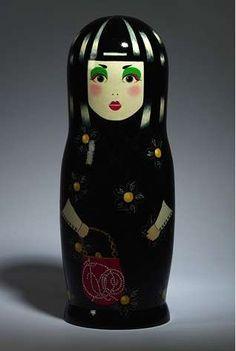 Matryoshka Russian dolls for Vogue Russia, by Valentin Yudashkin