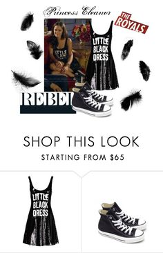 Princess Eleanor Outfit 2 - The Royals by hemmo1drauhl on Polyvore featuring moda, Moschino, Converse, princess, eleanor, TheRoyals and PrincessEleanor