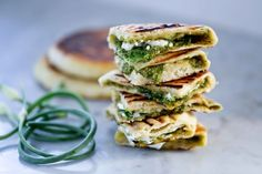 Grilled Naan With Garlic Scape Chutney - The 50 Best Grilling Recipes For Summer Cooking
