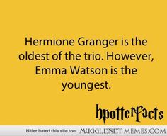 A Little Hermione Fact