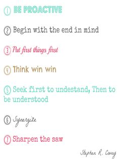 The seven habits of highly effective people Stephen Covey- oroymenta.blogspot