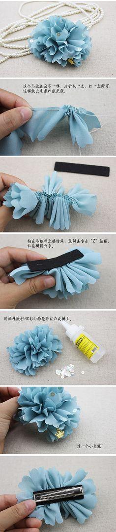 Mujeres Moda Vestido de gasa Nudo Cinturón Cadena de hojas de Borla Flor Negro Azul