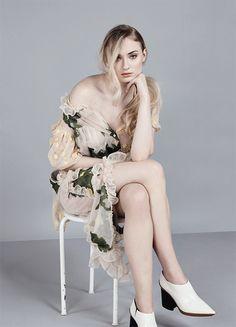 Sophie Turner photographed for Malibu Magazine (April 2017)