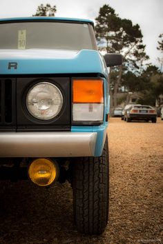Show Cars Aren't Limited to Monterey's Greens - Photography by Yoav Gilad for Petrolicious