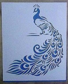 Paper cut peacock                                                                                                                                                                                 More