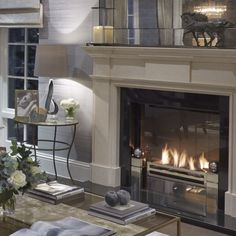 Sophie Paterson Interiors....lovely fireplace