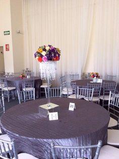 Centros de mesa Floreria Caeli, Monterrey, N.L