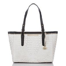 The Brahmin Medium Arno Tote in Sugar Tri-Texture | Brahmin Handbags