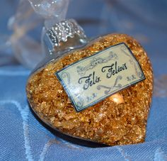 HP Felix Felicis POTION ornaments - Real Gold Flake. Inspired by the Wizarding World.  BEAUTIFUL & Unique.. $8.99, via Etsy.
