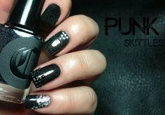 Fashion Polish: Punk Nail Art Skittles feat Born Pretty Store supplies and a GIVEAWAY!