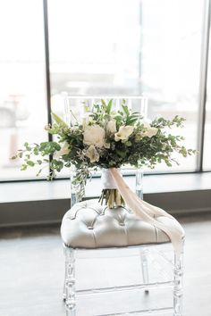 """From Amanda at White Ivy Events: """"The inspiration for this shoot came from my experience working in Minneapolis planning weddings. I wanted to bring a more modern, industrial vibe to the Iowa wedding scene. When I saw Eastbank, I knew it would be the perfect place to pull off a shoot like this. All the …"""