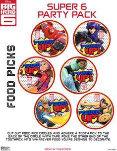 Big Hero 6 Food Picks