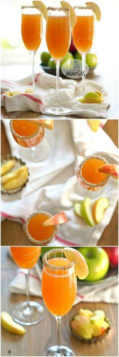 Apple Cider Mimosas!