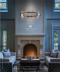 Introducing the new 2019 Cityscape Chandelier from Hubbardton Forge as featured in the Jan/Feb Luxe Magazine. We love this new shape! Contact us for more info. Decor Interior Design, Interior Decorating, Project Collaboration, Lighting Companies, Timeless Beauty, Home Goods, Chandelier, Magazines, Catalog