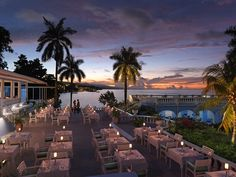 Imagine this as your view over dinner. See you at Jamaica Inn! #sunset #jamaica