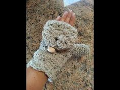 This video will show you how to make elegant crochet fingerless mittens, or you can go on to create crochet flip mittens using this same video tutorial. Hit ...