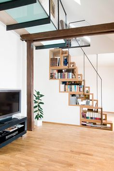Staircase Shelving more stair shelves! | shelf life | pinterest | stair shelves