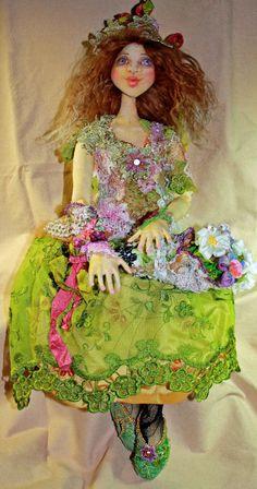 Patti Medaris Culea - Author, teacher, designer of one-of-a-kind cloth dolls. http://www.pmcdesigns.com/index.php