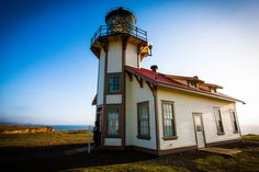 "Digital photography - ""Californian lighthouse"" by ShinavaPhotography on Etsy"