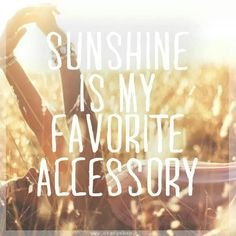 ☮ American Hippie Quotes ~ Sunshine