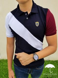 Mens Clothes — A Buyer's Guide – Clothing Looks Camisa Polo, Preppy Trends, Polo Shirt Design, Polo Outfit, Mens Polo T Shirts, Senior Shirts, Mens Trends, Warm Outfits, Complete Outfits