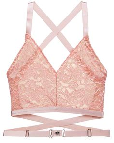 cbba97150 Rosa Lace Essential Easy Fit Bralette in Apricot