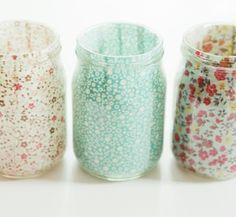 Reutilizar botes de cristal | Estilo Escandinavo