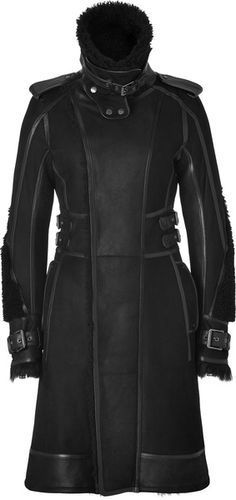 Is this my Forever Coat? Does it come in Camel?  BELSTAFF Black Shearling Kettering Coat