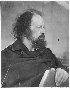 Lord Alfred Tennyson. Photograph by Julia Margaret Cameron 1865