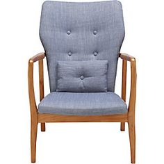 Accent Chairs, Armchair, Furniture, Home Decor, Stool, Living Room, Wood, Upholstered Chairs, Sofa Chair