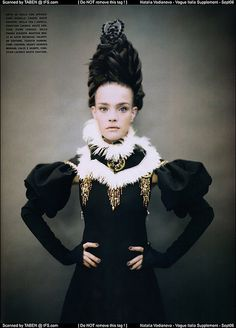 like a painting - by paolo roversi - for vogue italia by fashion.inspiration, via Flickr