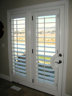 plantation shutters for french doors what these for my sliding glass doors no more curtains haynes green