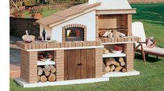 Barbacoas de obra   Chimeneas Pio Outdoor Kitchen Patio, Bbq Kitchen, Outdoor Oven, Outdoor Decor, Outdoor Barbeque, Backyard Barbeque, Chimnea, Parrilla Exterior, Gazebo
