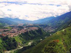 Mérida, Venezuela -- site of my first Latin American adventure. Hola, chamos.
