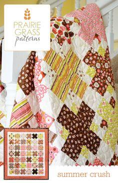 Summer Crush quilt pattern