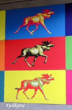 Fjellhytta interiør- og hytteblogg Moose Art, Spaces, Animals, Animaux, Animal, Animales, Animais