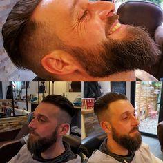 harleydavidson#biker#beardmen#barbershop by le_carre_homme