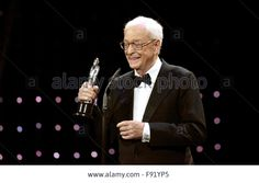 Berlin, Germany. 12th Dec, 2015. Sir #MichaelCaine during 28th European Film Award #EFA ceremony in Berlin © dpa picture alliance/Alamy Live News