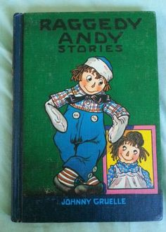 Raggedy Andy Stories by Johnny Gruelle Vintage 1960 HC Illustrated | eBay