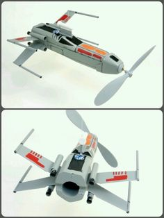 Plan for Hayden's Space Derby rocket - A Star Wars X-wing fighter!