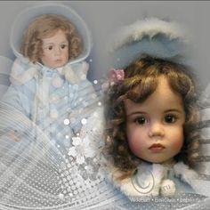 Коллекционная кукла SERINE от Sissel Bjorstadt Skille, GÖTZ / Коллекционные куклы Sissel Bjorstadt Skille / Бэйбики. Куклы фото. Одежда для кукол