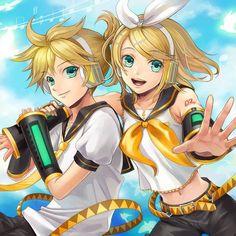 VOCALOID Rin y Len Kagamine