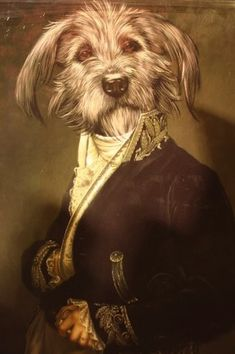 Général - Anthropomorphic dog art
