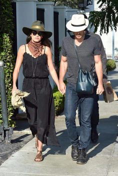SOMEREED out and about Ian Somerhalder Nikki Reed, Cowboy Hats, Womens Fashion, Women's Fashion, Woman Fashion, Fashion Women, Feminine Fashion, Moda Femenina